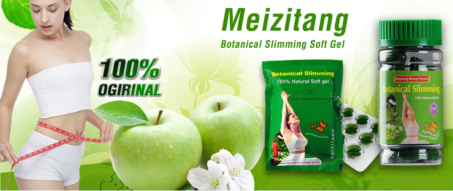 Obat Diet Meizitang Botanical Softgel