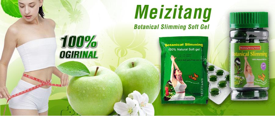 Obat Diet Meizitang Botanical Softgel