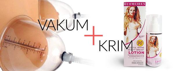 Vakum & Krim Pembesar