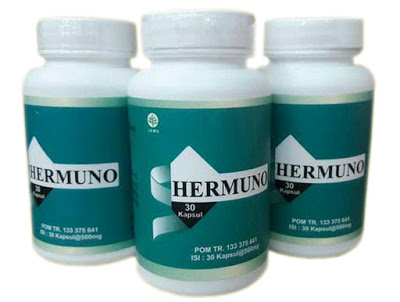Hermuno Intoxic - Obat Herbal Anti Parasit 100% Original BPOM